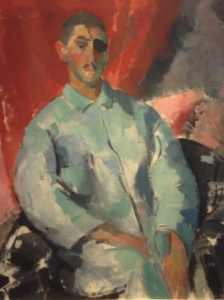 Rik Wouters, Autoportrait, 1916