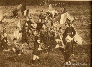 Enfants de la guerre. Bruxelles