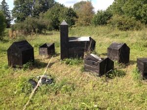 Robert Berkel, Le village détruit, Saulmory