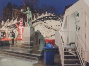 Monument en l'honneur du pigeon-soldat, Bruxelles