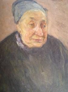 Auguste Ravenel, Portrait de femme