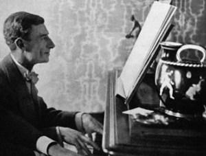 Ravel chez lui en 1914