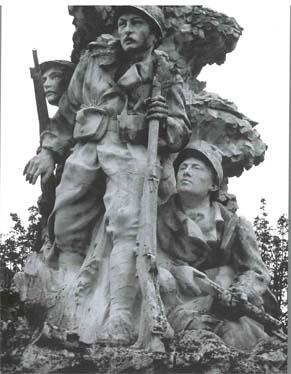 Louis Leclabart, Monument aux morts d'Abeville