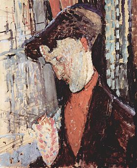 Portrait de Frank Burty Haviland, Modigliani