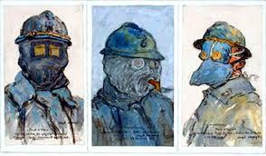 Cagoule contre les gaz asphyxiants, Jean-Louis Lefort, 1915