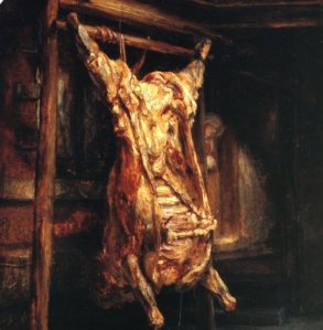 Rembrandt, Boeuf écorché