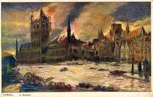 Bastien, Ypres 1915