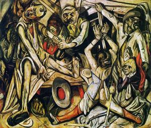 Max Beckman, The Night, 1918-1919.