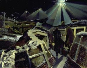 Paul Nasch, The Ypres salient at night, 1918