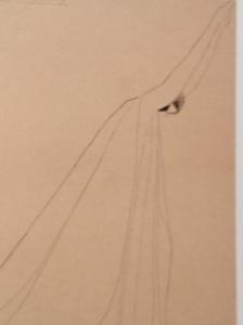 Lucien Jacques, Isadora dans Ave maria de Schubert, 1919.