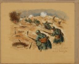 Pierre Bertrand, Attaque à l'Hartmannswillerkopf, 1916