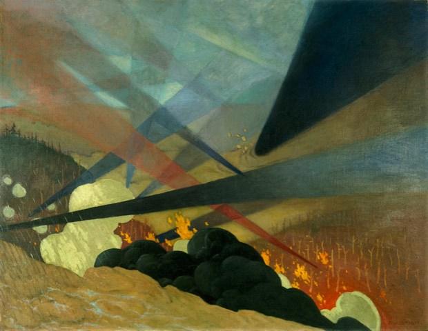 Félix Vallotton, Verdun, 1917
