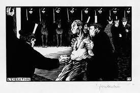 Félix Vallotton, L'exécution, 1894