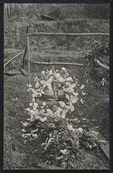 Première tombe de Gabrielle Petit après son exécution