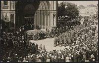 Enterrement solennel de Gabrielle Petit en 1919