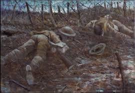 C.R.W. Nevinson, Les chemins de la gloire, 1917